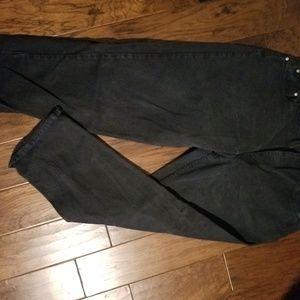 """Levi's black """"baggy"""" Jean's sz 38/30"""